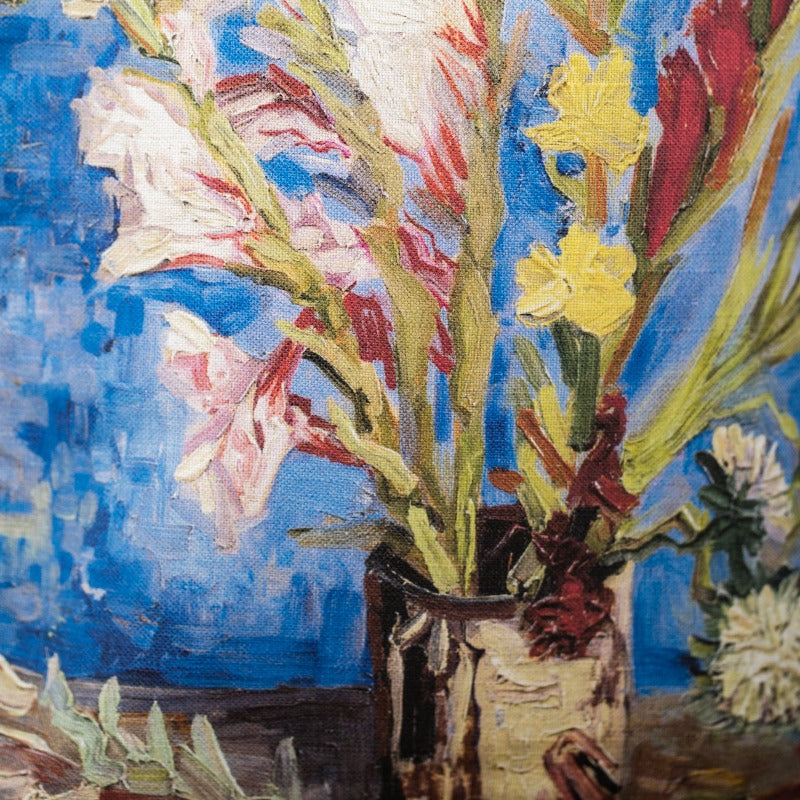 Lina auduma maisiņš «Vase with Gladioli and Chinese Asters»