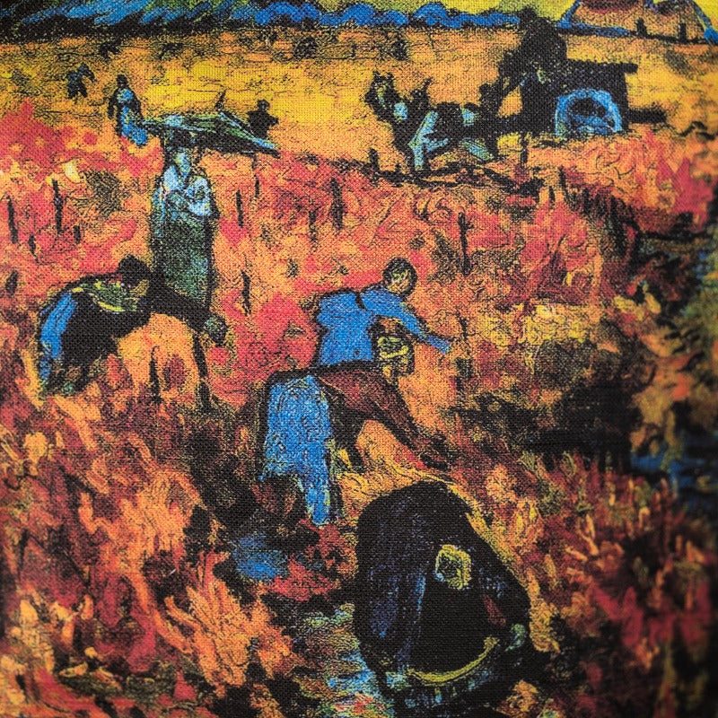Lina auduma maisiņš «The Red Vineyard»