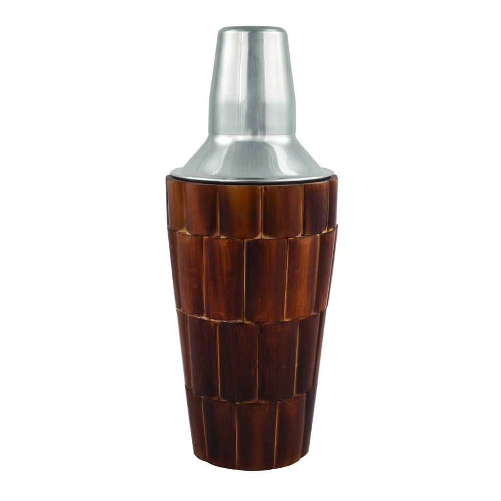 Bamboo Tiled Cocktail Shaker