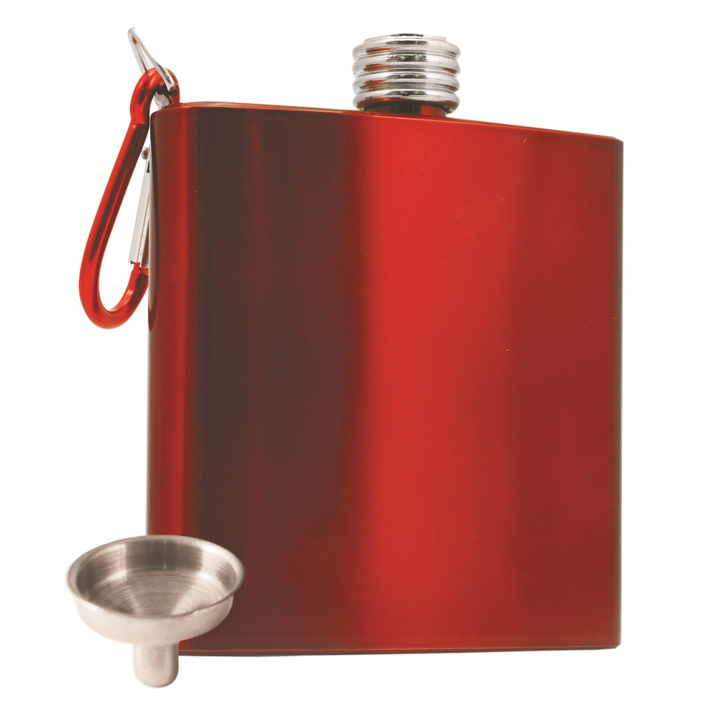 Carabiner Flask with Funnel