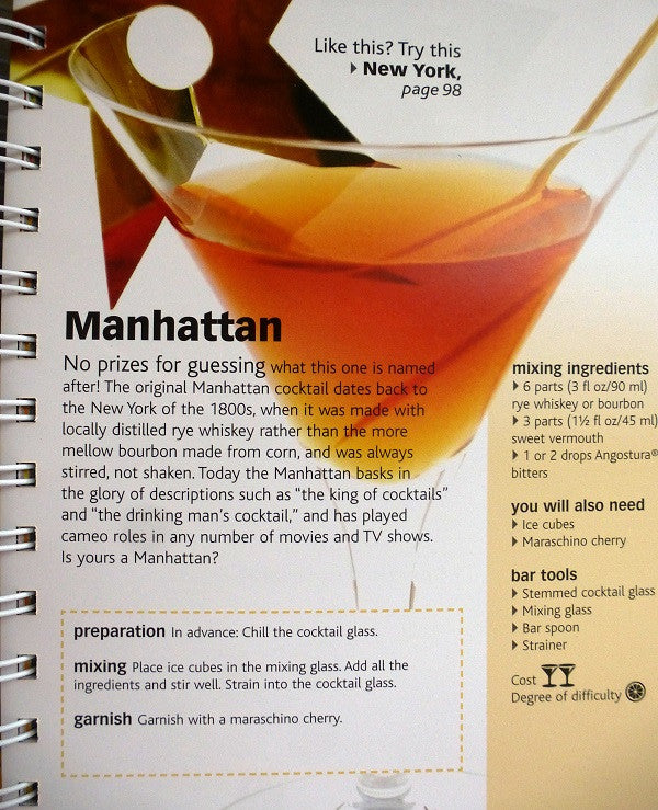 Cocktails - Essential Bar Book - Sample Recipe