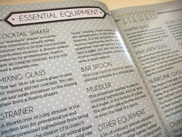 Make Shake Cocktail - Equipment