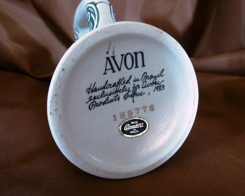 Avon Ceramic Stein - markings on bottom