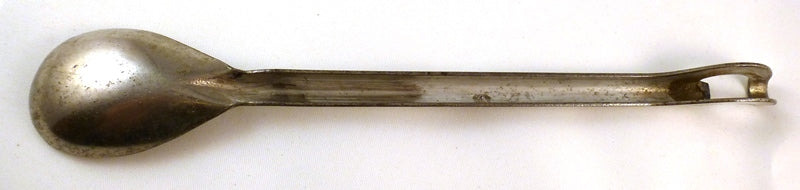 Underside of vintage Ferris Hotel bar spoon