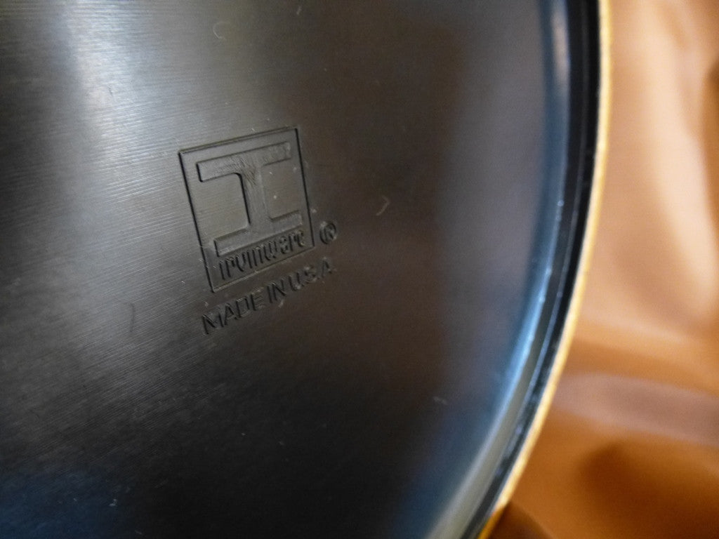 Irvinware brand mark on bottom of ice bucket