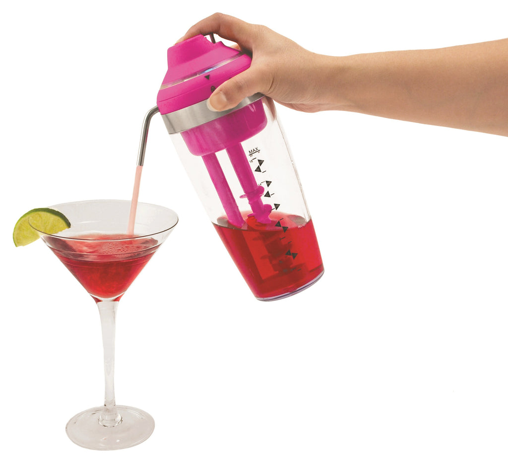 Electric Cocktail Mixer with drink