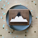 Wooden Mountain - Painted Peaks