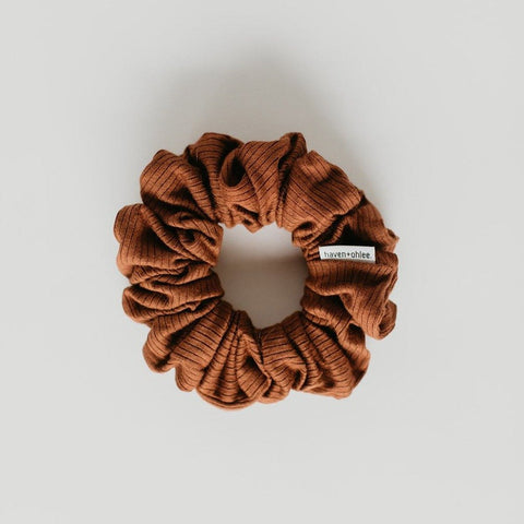Haven + Ohlee Scrunchies - CINNAMON (2 sizes)