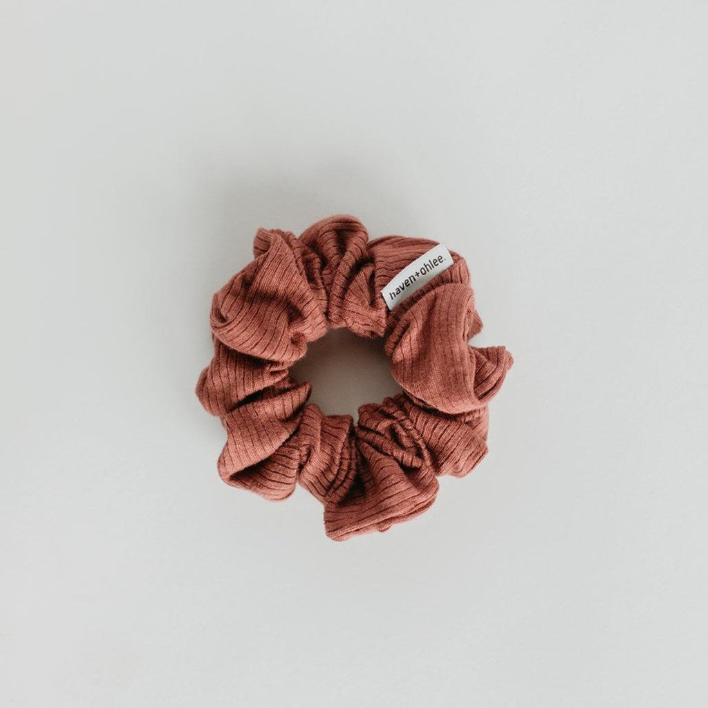 Haven + Ohlee Scrunchies - MULBERRY (2 colors)