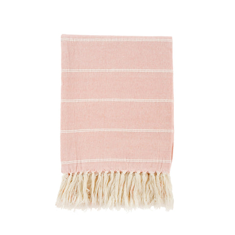 Harlow Throw Blanket - Pink