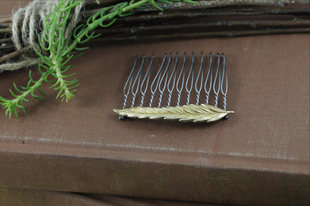 """Prairie Girl"" Hair Comb"