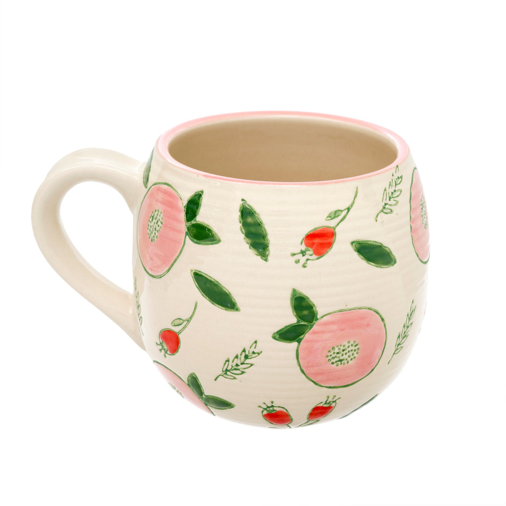 Pretty Pomegranate Mug