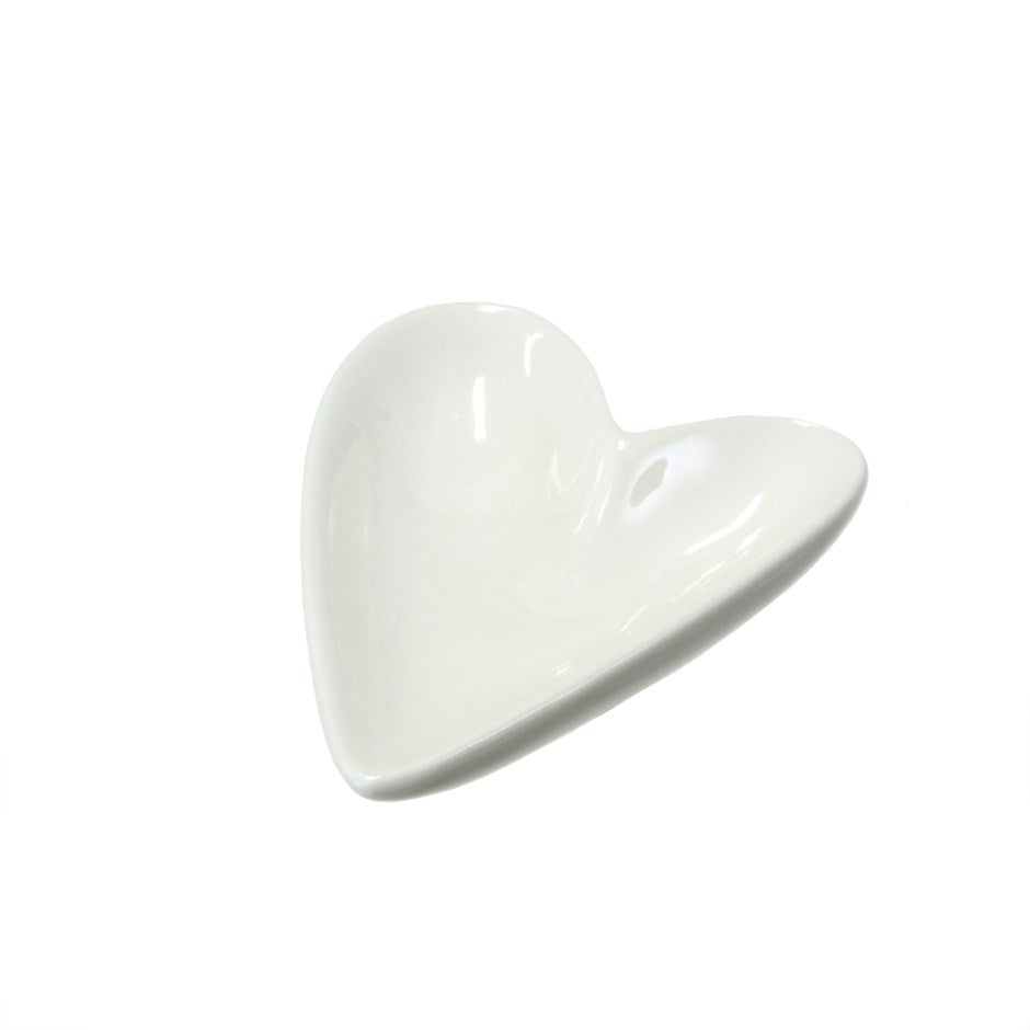 Porcelain Heart Dishes (2 sizes)