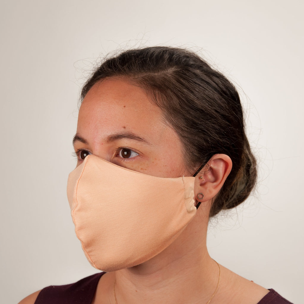 Face Masks (Adult Regular) - PEACH COTTON