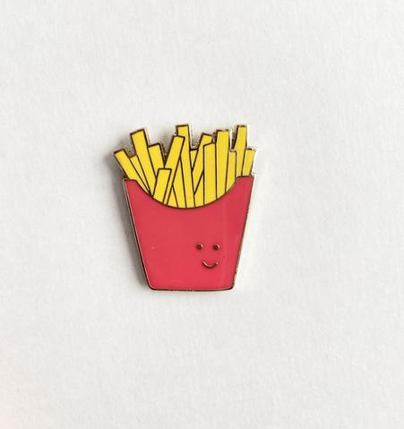 French Fries Enamel Pin