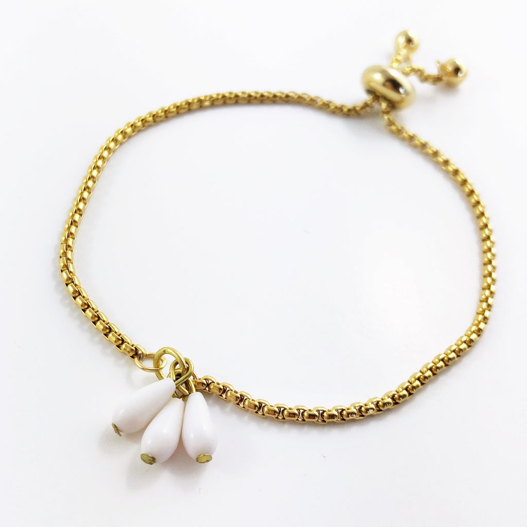 """Cheers"" Pull-Clasp Bracelet"