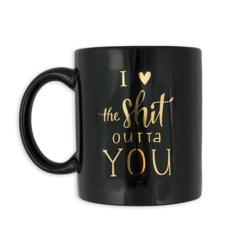 I Love The Shit Outta You Mug