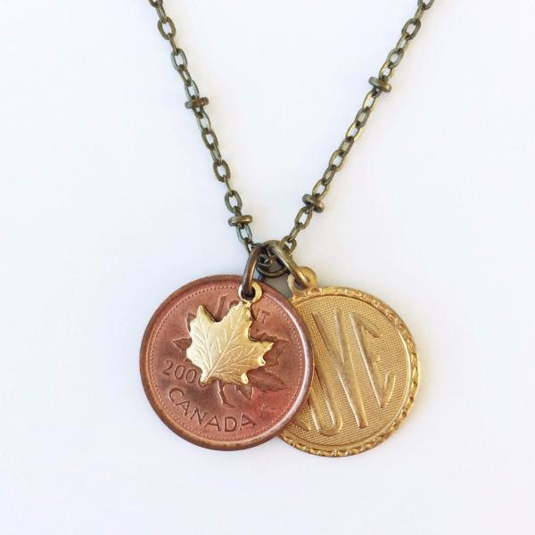 """Lucky Penny"" Necklace - Year of your choice!"