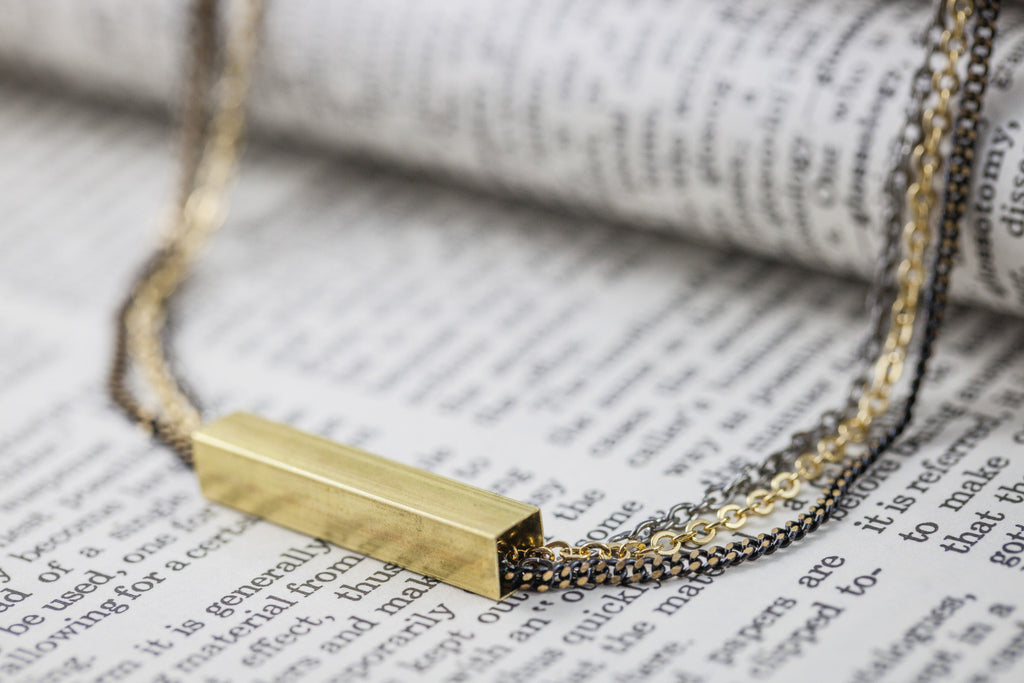 """Golden Bar"" Necklace"