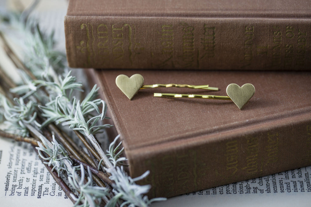 """Sweetheart"" Bobby Pins"