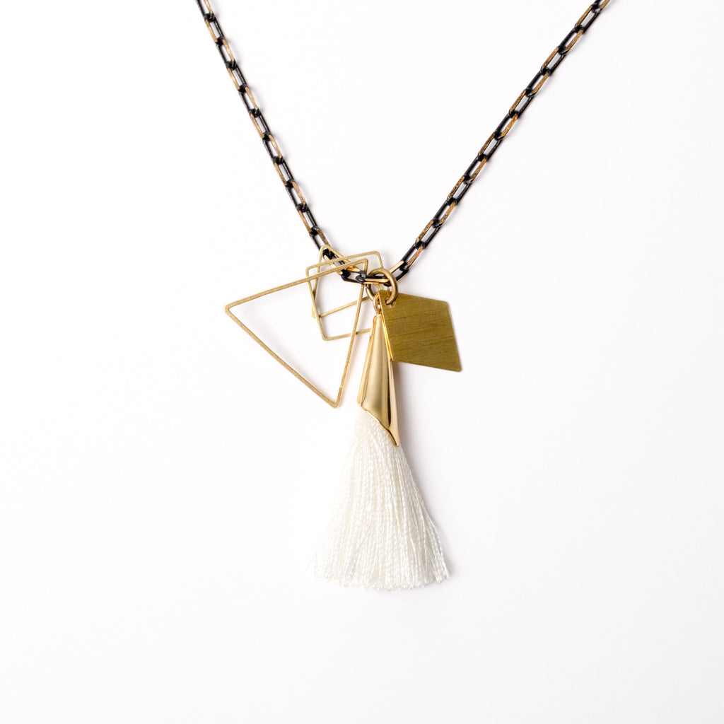 """Fine Fringe"" Tassel Necklace"