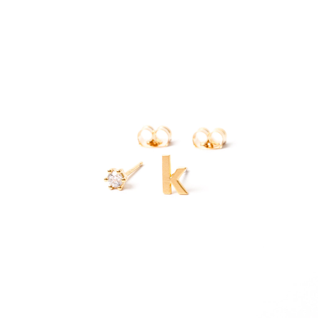 """Good Company"" Stud Earring Trio"