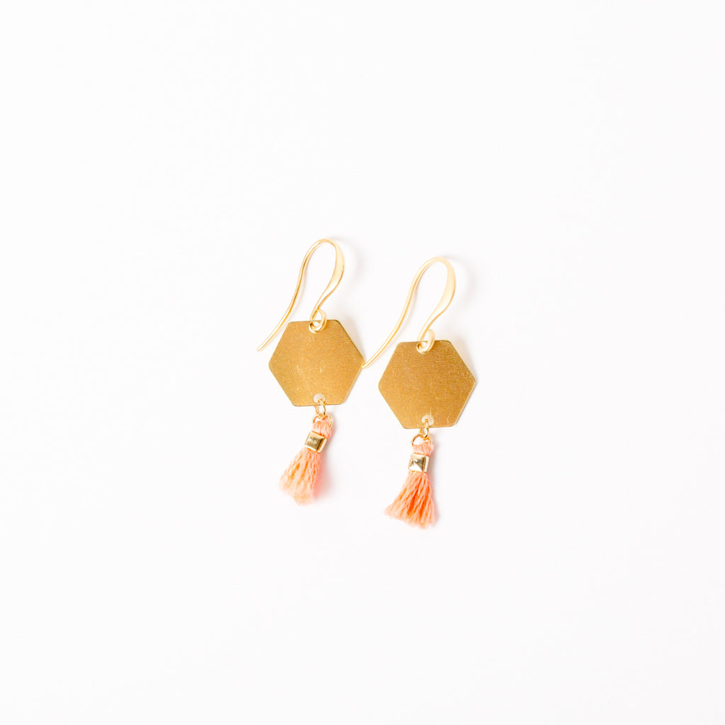 """Happy Hour"" Tassel Earrings"