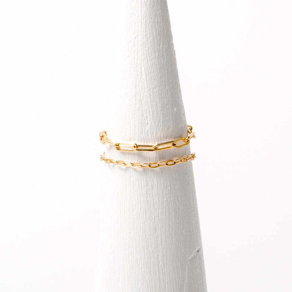 """Long Link"" Chain Ring"