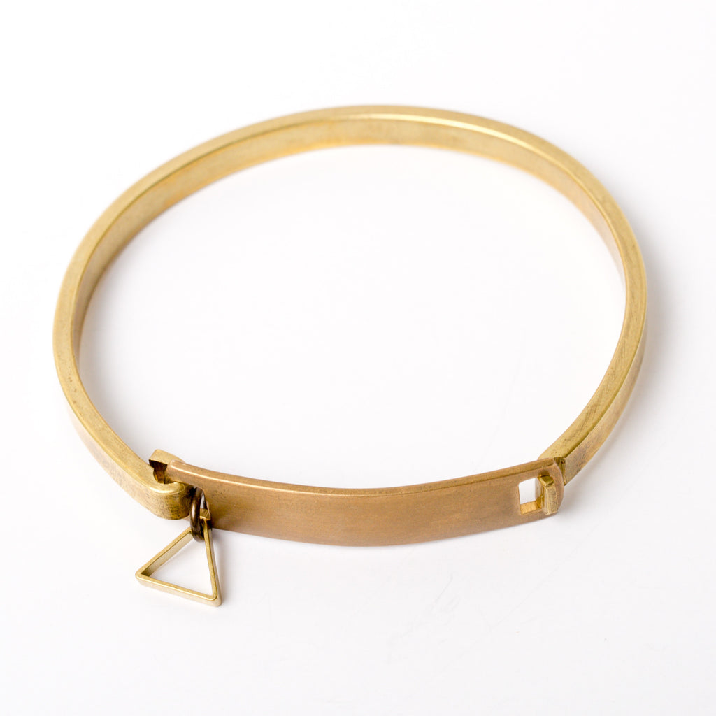 """Simple Shape"" Hinge Bracelet"