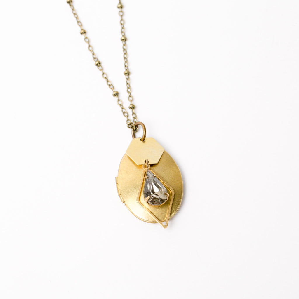 """Remember Me"" Locket Necklace"