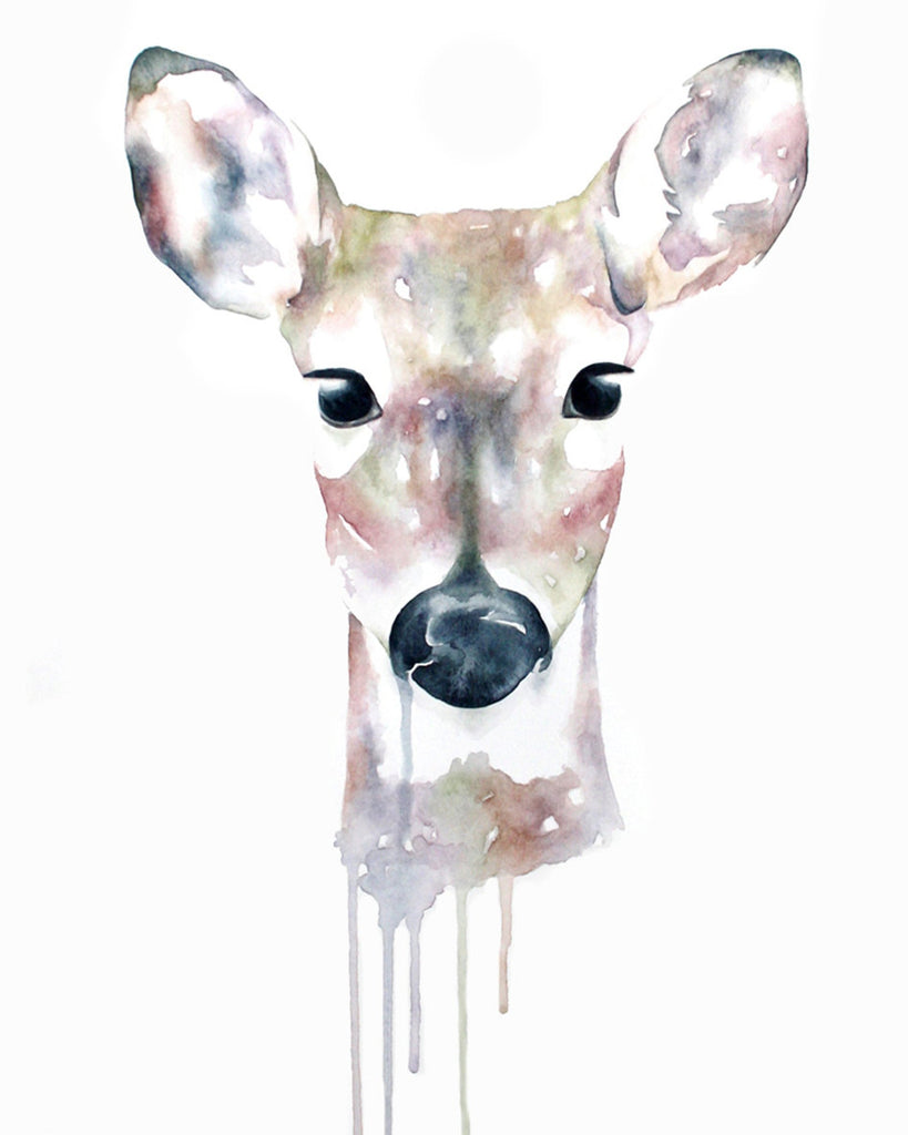 Watercolor Animal Prints