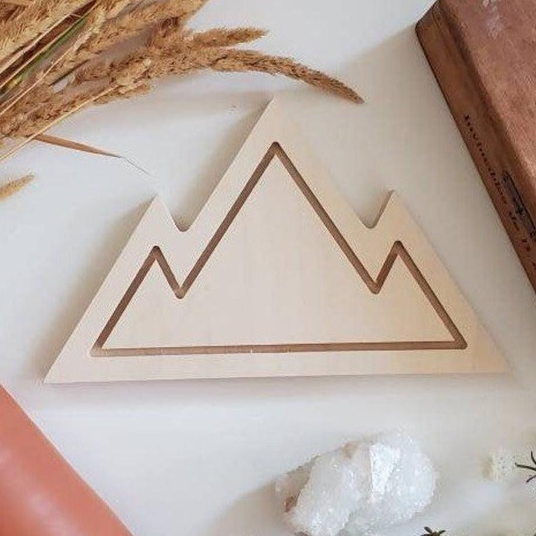 Wooden Mountain Solid (blonde wood)