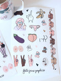 Greta Jane Sticker Sheets!