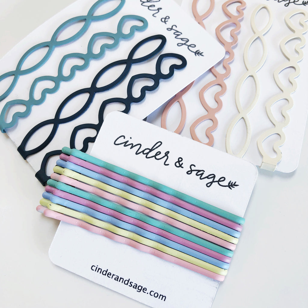 """Pastel Dreams"" Bobby Pins (10-pack!)"