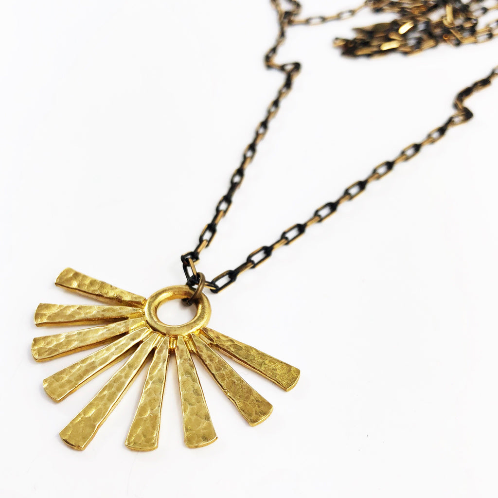 """Sunburst"" Necklace"