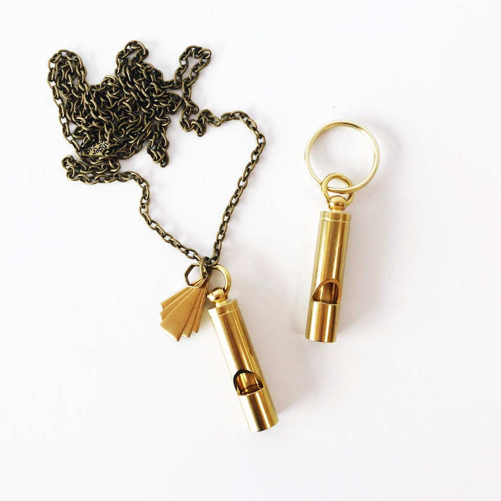 """Call On Me"" Whistle Necklace"