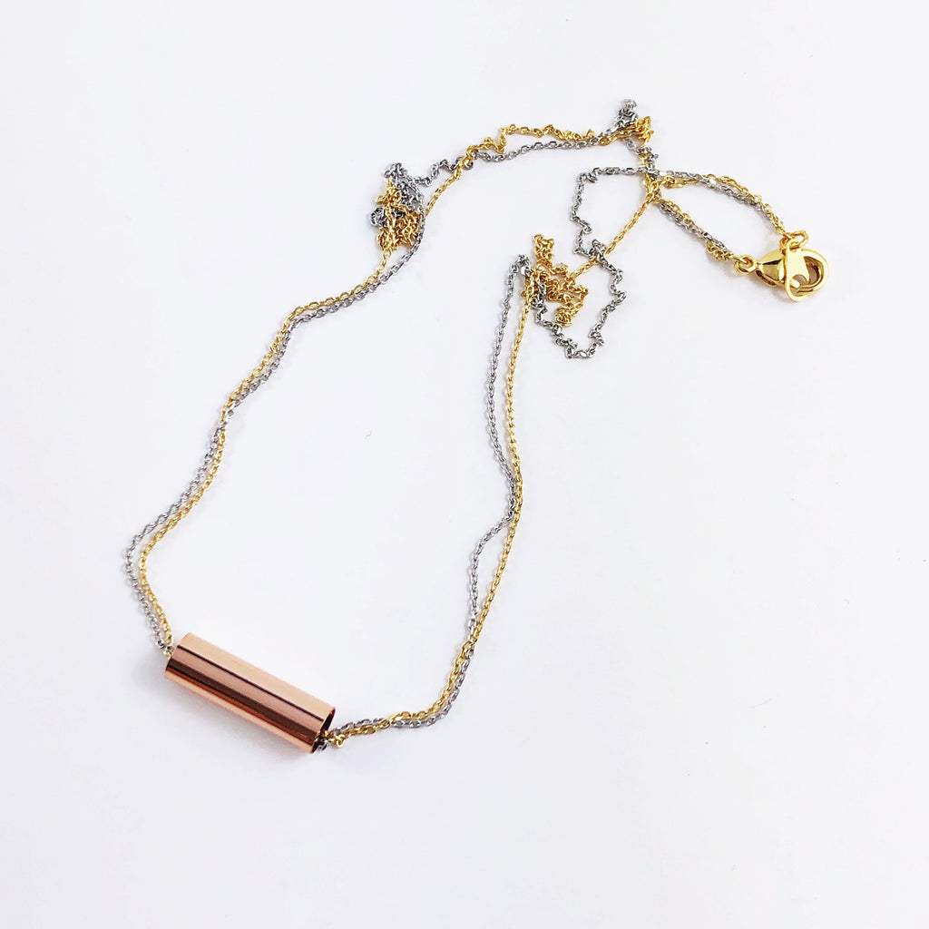 """Tube Ride"" Necklace"