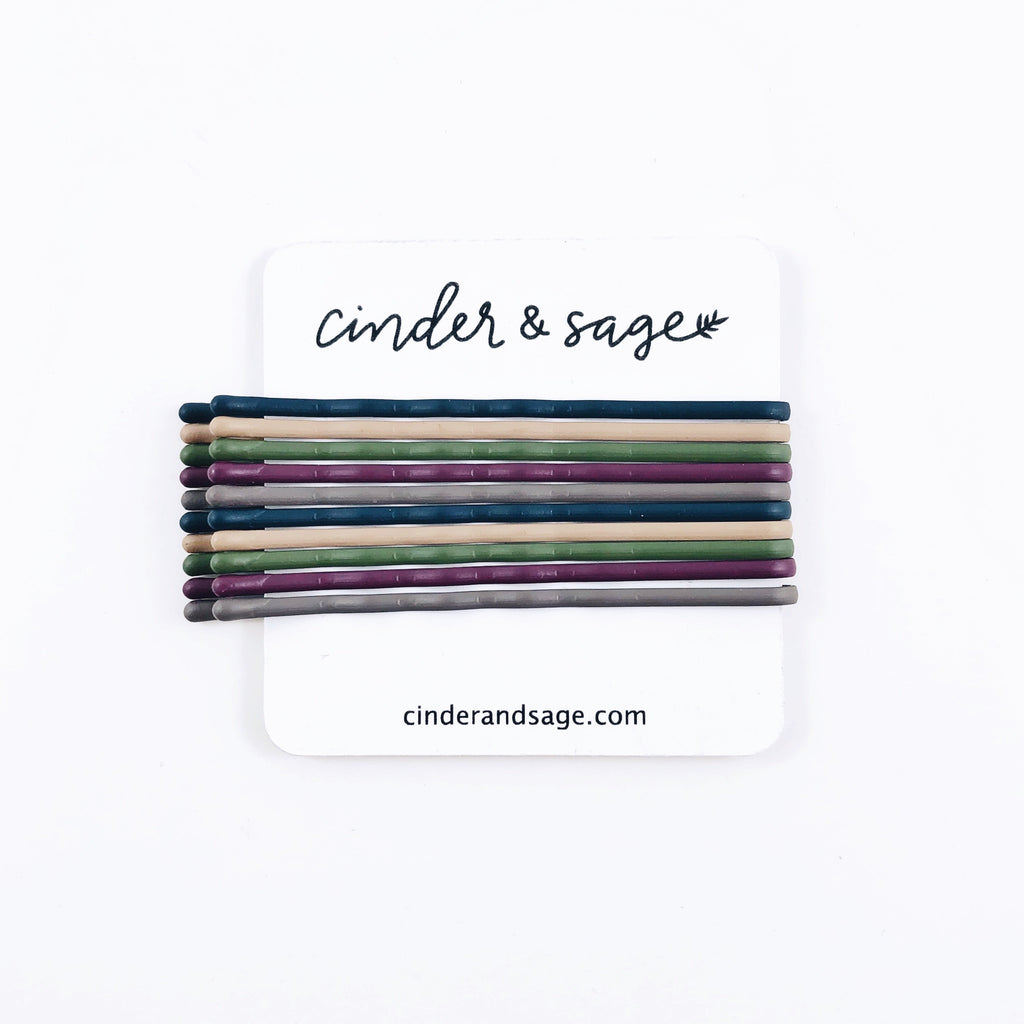 """Moody Crew"" Bobby Pins (10-pack!)"