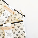 Jewelry Travel Pouches - Hand Stamped!