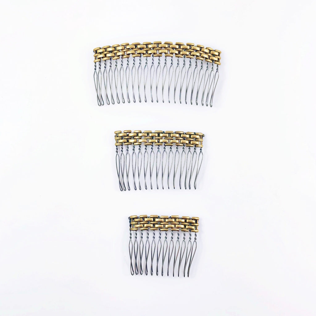 """Well Woven"" Hair Combs (3 sizes)"