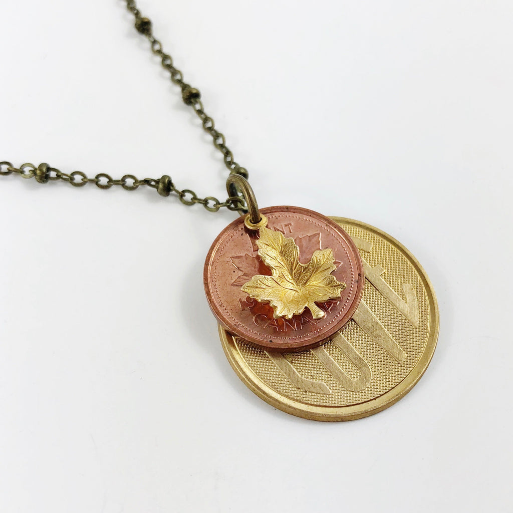 """Lucky Penny: Part 2"" Necklace - Year of your choice!"