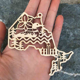 Oh Canada Province Ornaments