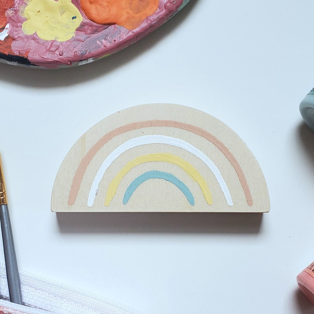 Wooden Rainbows - Mini (3 colors)