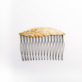 """Faint Feather"" Medium Hair Comb"