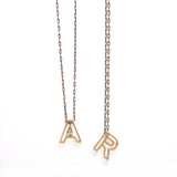 """Alphabet Soup"" Initial Necklaces"