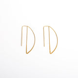 """D Is For Darling"" Back Drop Earrings"