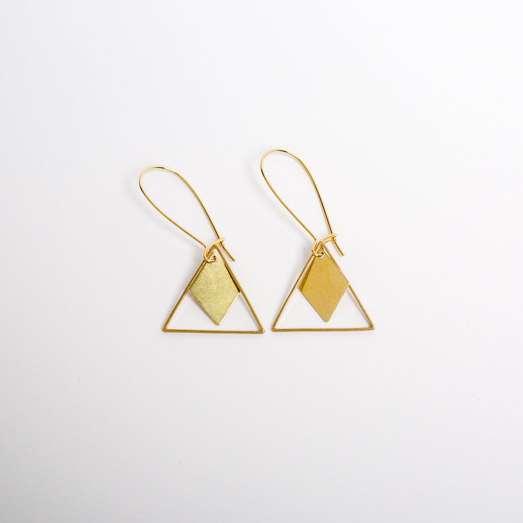 """Dear Me"" Earrings"
