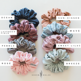 Haven + Ohlee Scrunchies - PEBBLE