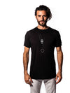 Bamboo - Black - Short Sleeve Shirt - Crew Neck
