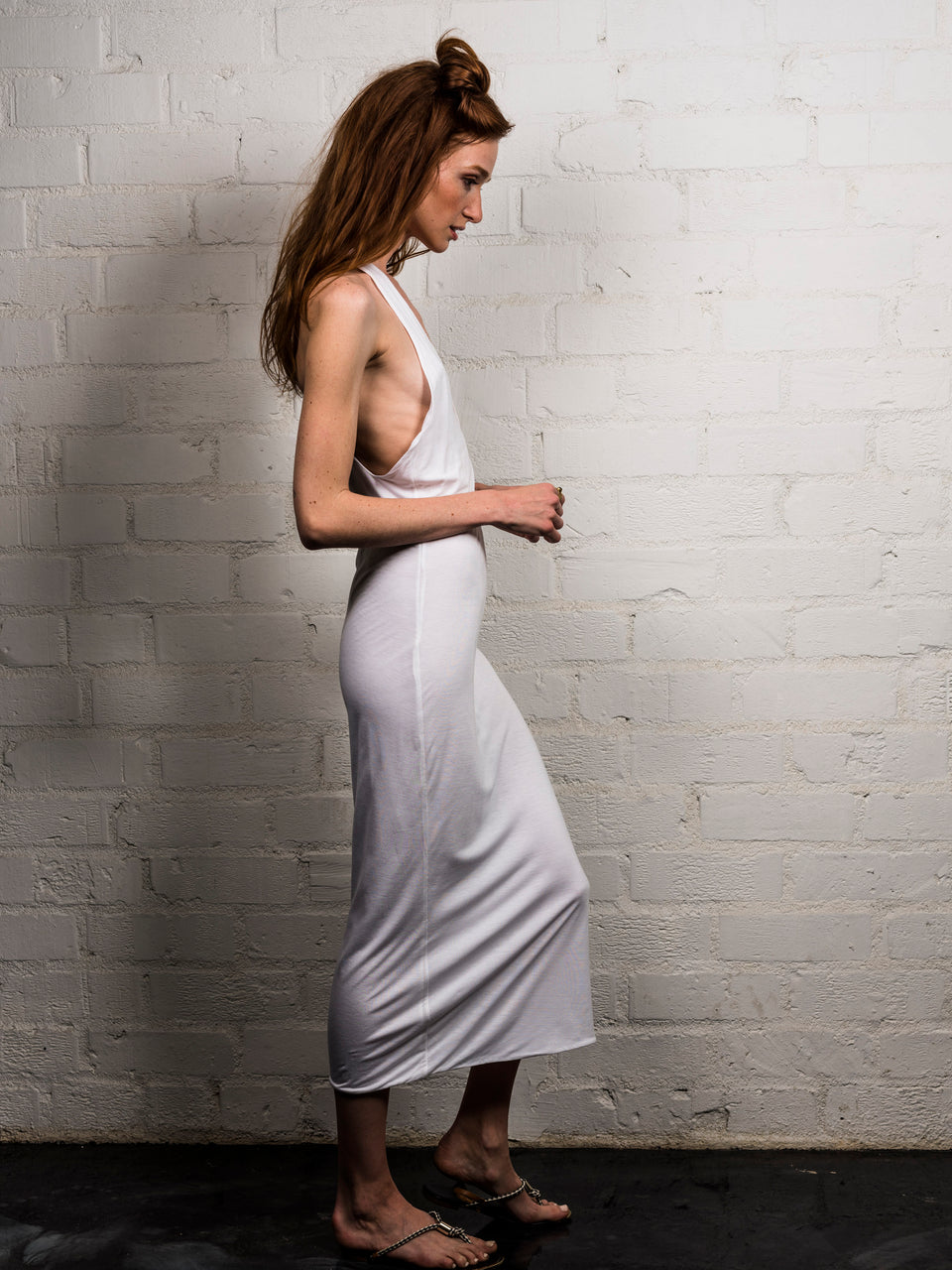 T-Back Dress - Illuminated White